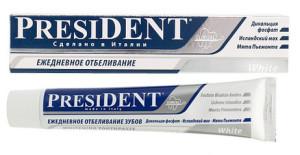 """Зубные пасты PresiDENT отбеливающие - """"Дом Здоровья"""""""